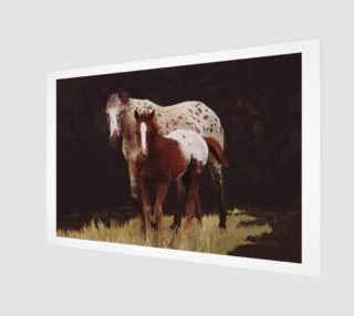 Aperçu de Appaloosa Mare and Foal 3:2