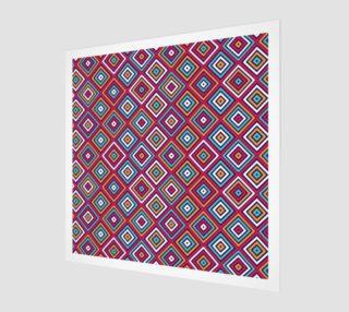 Aperçu de monochrome rhombus pattern