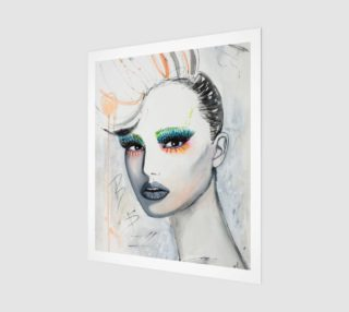 Art print Fashionista preview