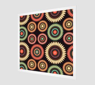 Aperçu de multicolor circle flower mandalas
