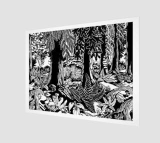 Landscape Art Print B &W Canadian Landscape Prints preview