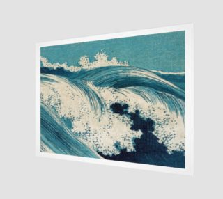 Japanese Print - Wave - B - Hatō zu - Uehara, Konen01826u - Waves2 preview