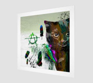 Cat №2 Wall Art Print preview