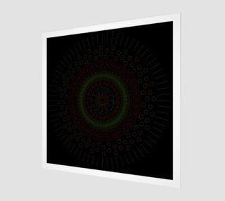 Aperçu de circular mandala art