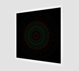 Aperçu de circular mandala design