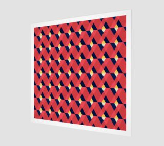 red triangle tile ceramic preview