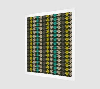Aperçu de Floral Geometric Tile