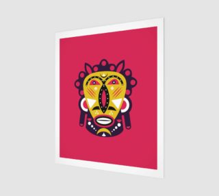 Aperçu de Kuba Face Mask Pink