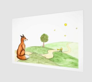 The little prince and the fox preview