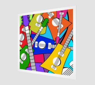 Aperçu de Bright Colorful Guitars