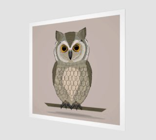 Aperçu de Gorgeous Owl Illustration