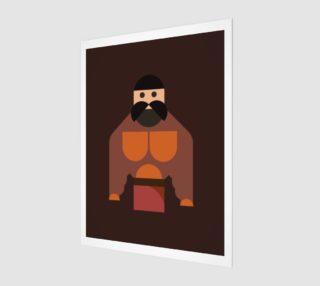 Aperçu de Funny Big Muscle Man