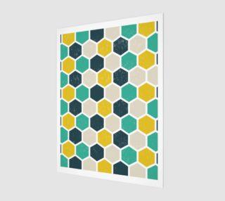 Aperçu de Hexagonal Geometric