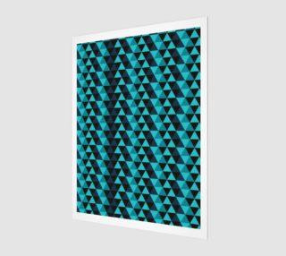 Aperçu de Abstract Blue Triangles