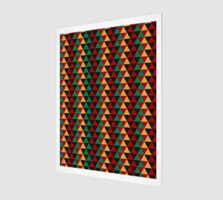 Aperçu de Abstract Triangle Art