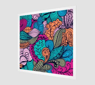 Aperçu de Hand Drawn Abstract Floral