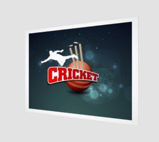 Aperçu de Cricket Poster