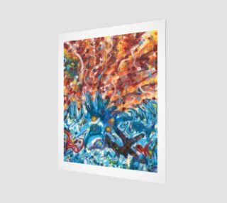 Life Ignition from Spray Painted Mural Canvas preview