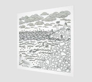 Mermaid print preview