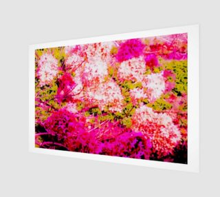 Vintage Inspired Pink Hydrangea Canvas preview