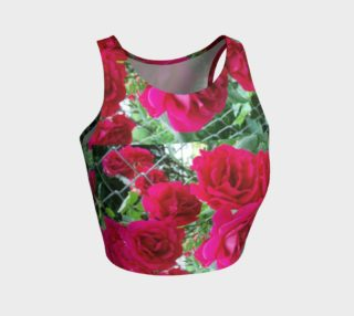 Lovely Rose Crop Athletic top preview