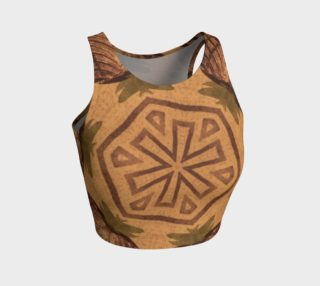 Ancient Emblem Fitted Crop Top preview