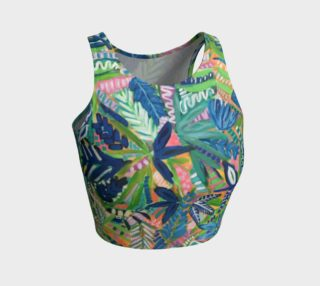 Jungle Jive- Athletic Crop Top 1 preview