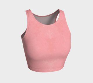 Aperçu de Athletic Crop Top in Pink Marble