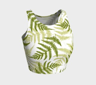 'Ferns' Athletic Crop Top preview