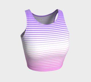 Ombre Stripe White Pink Lavender preview