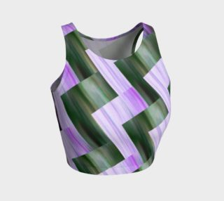 Green and violet zig zag preview