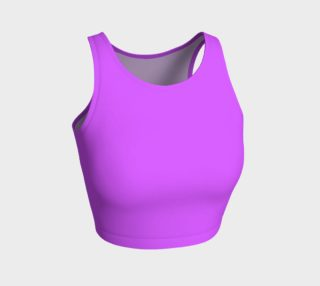 Solids Electric Lilac Athletic Crop Top preview