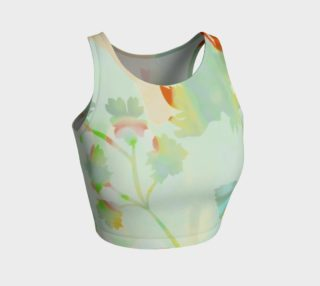 Francella Silhouette Crop Top by Deloresart preview