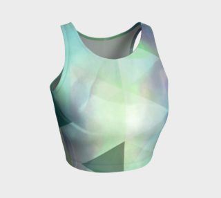 Be Still Textural Crop Top by Deloresart preview