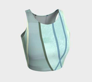 Coaxial Teal Crop Top by Deloresart preview