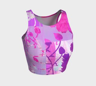 Boreal Forest Crop Top by Deloresart preview