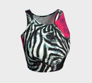 Abrica-Zebra / Zebra Flip Crop Top preview
