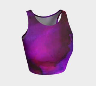 Purple Passion Alcohol Ink Art preview