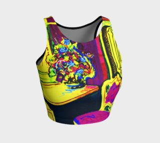 Vacation Time Workout Crop Top preview