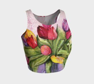TULIP BOUQUET in WATERCOLOR preview
