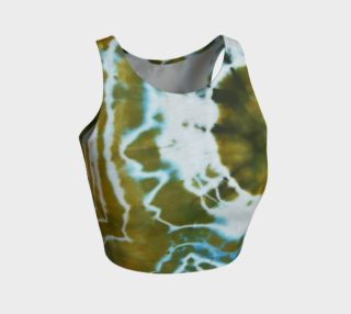 Green Geode Crop Top preview