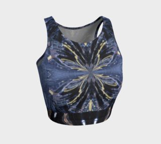 Goth-Cosplay / Iron Butterfly Crop Top (w/Lux-Surface-Look) preview