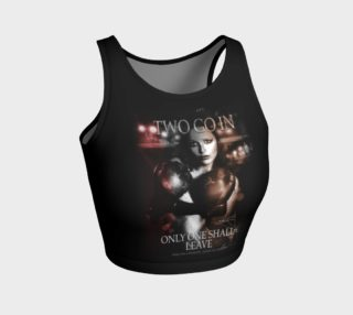 Women's MMA Boxing Athletic Crop Top preview