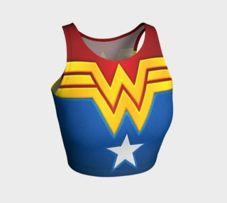 Wonder Woman crop top aperçu