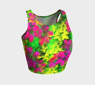 Flowers Chaos crop top preview