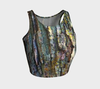 Tree Bark Athletic Crop Top preview
