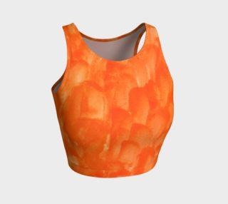 Orange Explosion Crop Top preview