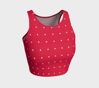 Umsted Design Passion Red with White Polka Dots preview