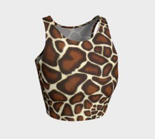 Giraffe Spots Crop Top preview