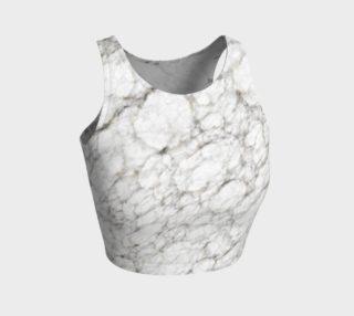 Marble Texture Art Crop Top preview